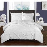 Maison Rouge Cameron White Bed in a Bag Duvet Set