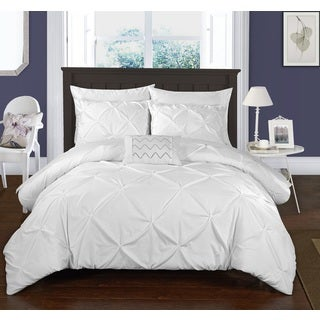 Maison Rouge Cameron White Bed in a Bag Duvet Set