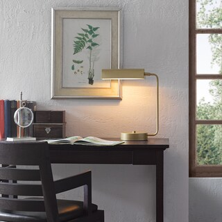 Madison Park Signature Bringham Gold Desk Lamp