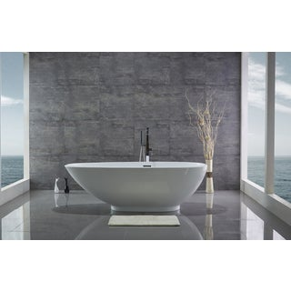 74.8 in Acrylic freestanding bathtub