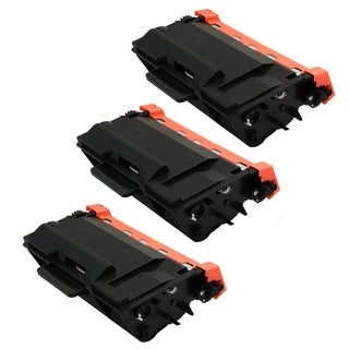 3PK Compatible TN880 Toner Cartridge For Brother DCP-L5500DN DCP-L5600DN DCP-L5650DN HL-L5000D HL-L5100DN ( Pack of 3 )