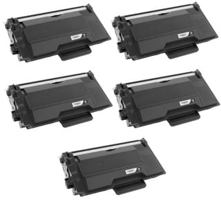 5PK Compatible TN820 Toner Cartridge For Brother DCP-L5500DN DCP-L5600DN DCP-L5650DN HL-L5000D HL-L5100DN ( Pack of 5 )