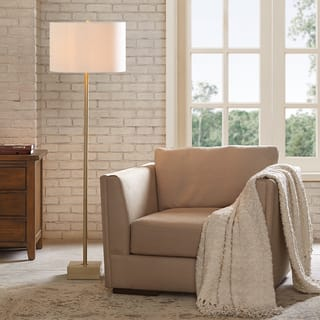 Floor Lamps Living Room. Madison Park Signature Bringham Gold Floor Lamp Lamps For Less  Overstock com