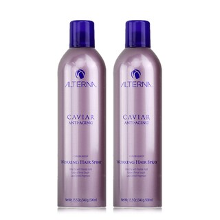 Alterna Caviar Anti-Aging Working 15.5-ounce Hair Spray (Pack of 2)