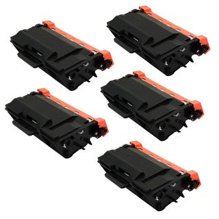 5PK Compatible TN880 Toner Cartridge For Brother DCP-L5500DN DCP-L5600DN DCP-L5650DN HL-L5000D HL-L5100DN ( Pack of 5 )