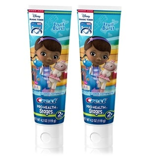 Crest Pro-Health Stages Doc Mcstuffins 4.2-ounce Kid's Toothpaste (Pack of 2)