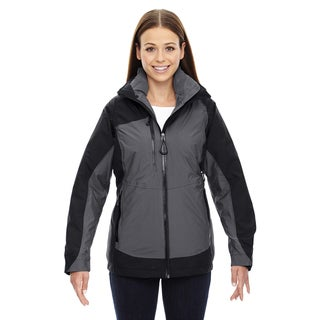 Alta Women's 3-In-1 Seam-Sealed Black 703 Jacket With Insulated Liner