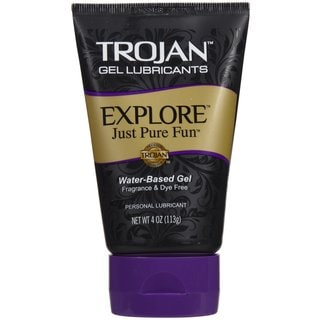 Trojan 4-ounce Explore Gel