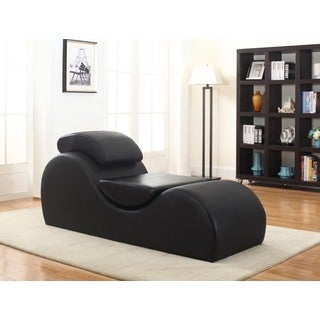Faux Leather Yoga & Stretch Relax Chaise