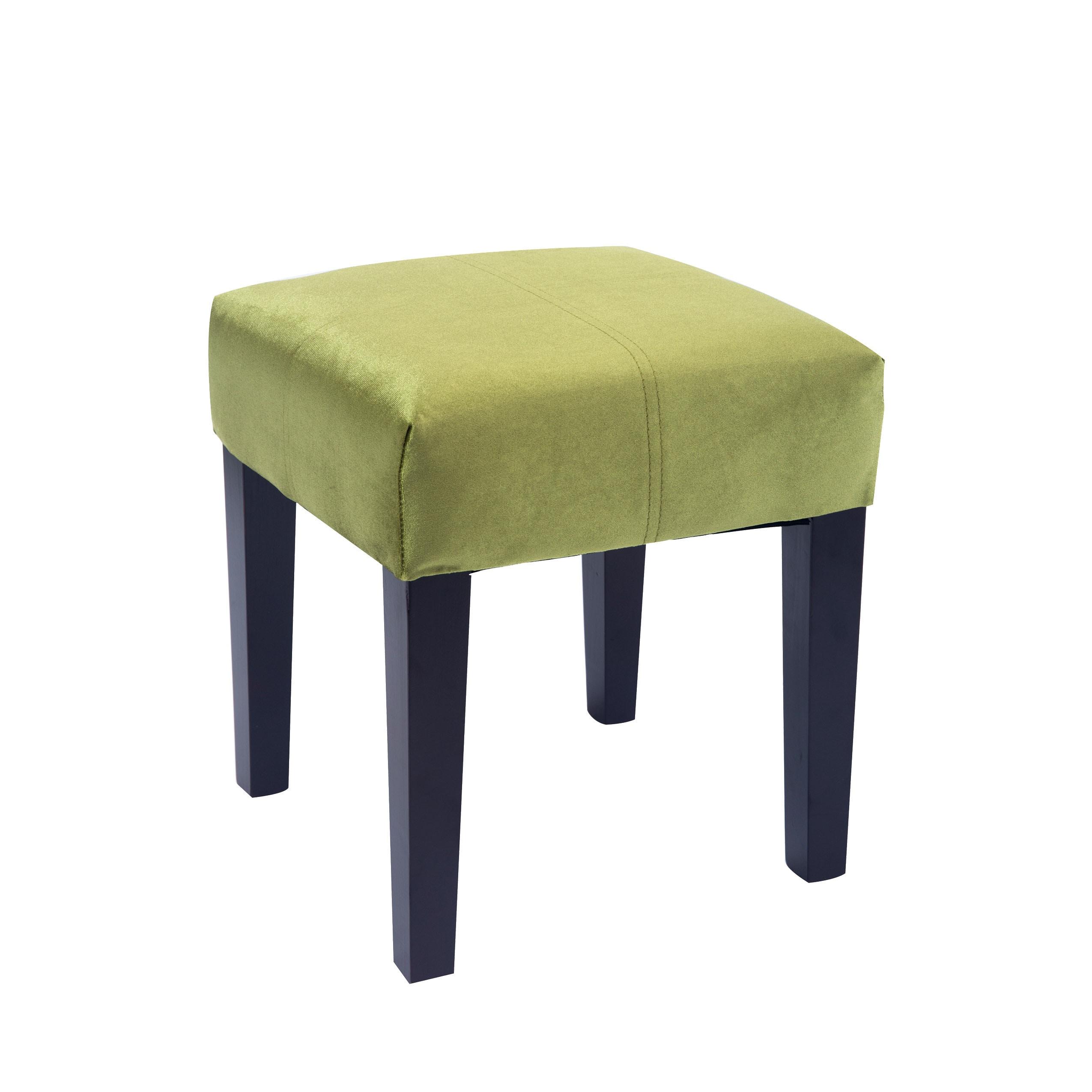 Porch Amp Den Albion 16 Inch Square Velvet Upholstered Bench