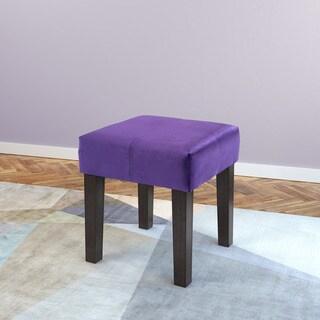 Clay Alder Broadway 16-inch Square Velvet Upholstered Bench