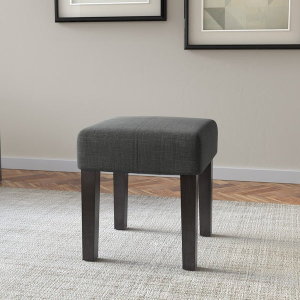 Corliving Antonio 16 Inch Square Upholstered Bench Free