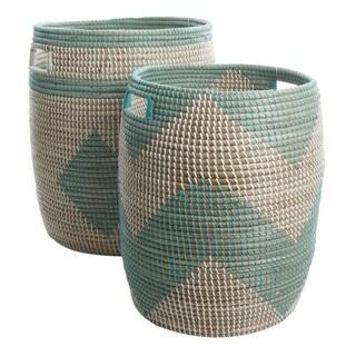 Gibson Eco-Friendly Swinley 2-Piece Basket Set