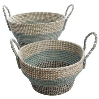 Gibson Brannon 2-Piece Basket Set