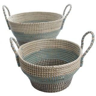 Gibson Brannon 2-Piece Basket Set