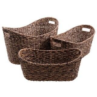 Gibson Eco-Friendly Grande 3-Piece Basket Set