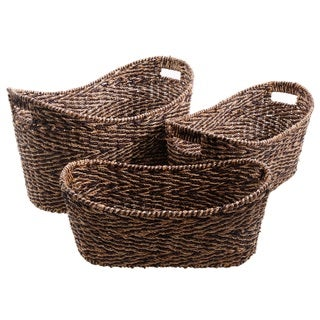 Gibson Eco-Friendly Grande 3-Piece Basket Set