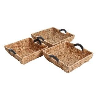 Gibson Eco-Friendly Rawson 3-Piece Nesting Basket Set