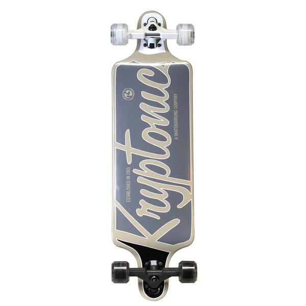 Kryptonics Drop Down Longboard 32-inch x 8-inch Complete Skateboard