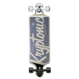 Kryptonics Drop Down Longboard 32-inch x 8-inch Complete Skateboard