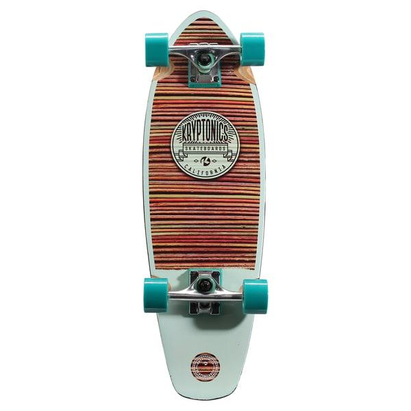 Kryptonics Crusier Board 27-inch x 8.5-inch Complete Skateboard