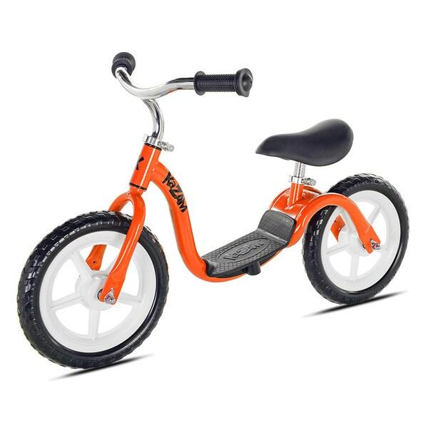 12 Kazam V2E Balance Bike Boy Orange