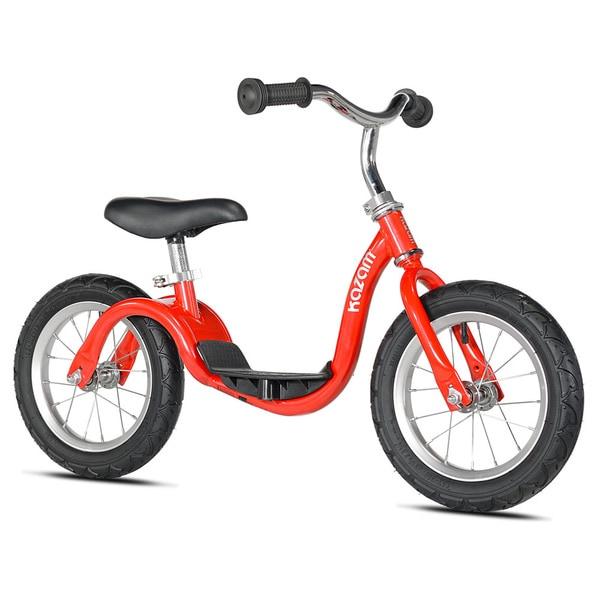 12 Kazam V2S Balance Bike Boy Red