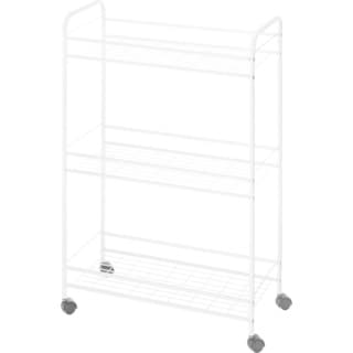 Whitmor 3-Tier Slim Household Cart White