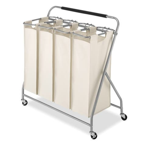 Whitmor Easy-Lift Quad Laundry Sorter