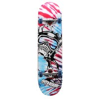Speed Demon 39 Series 31 inch x 8 inch Complete Skateboard - Red