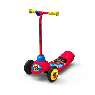 'Blaze and the Monster Machines' Red/Multicolor Stainless Steel Safe-start 3-wheel Electric Scooter