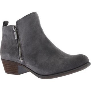 Women's Lucky Brand Basel Storm Suede Booties