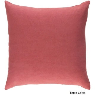 Decorative Villa 18-inch Feather Down or Poly Filled Pillow
