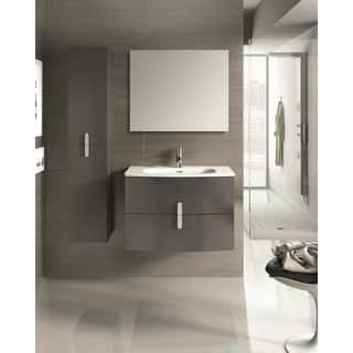 Eviva 31-inch Grey Round Wall-mounted Modern Bathroom Vanity with White Integrated Porcelain Sink|https://ak1.ostkcdn.com/images/products/12275844/P19114521.jpg?impolicy=medium