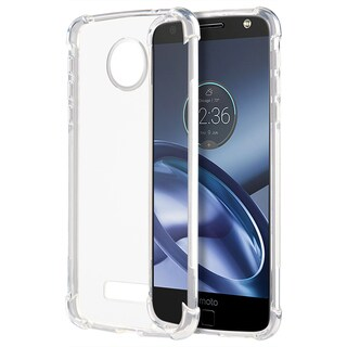 Motorola Moto Z Force Shock-proof Lite Crystal Case Clear