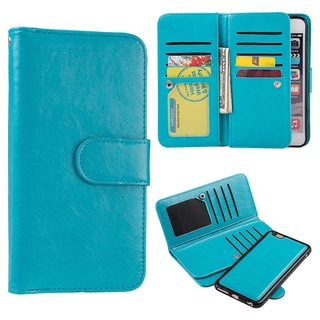 Timberland Double-flop Leather Apple iPhone 6/6s Smartphone Wallet With Magnetic Phone Holder