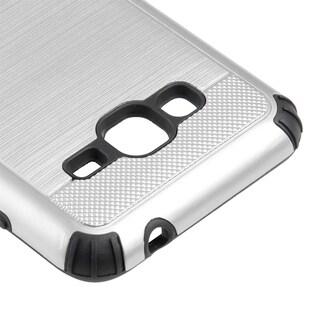 Samsung Galaxy J3 (2015) Silkee Armor Anti-Shock PC + TPU Dual Hybrid Case