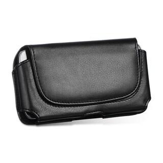 HTC M7 DW Horizontal Black Pouch