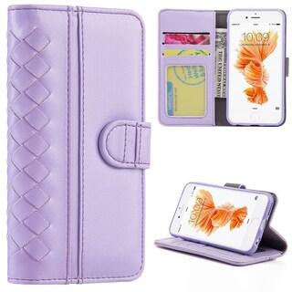 Apple Iphone 6 / 6S PLUS Roma Premium Delicate Soft Leather Wallet Case