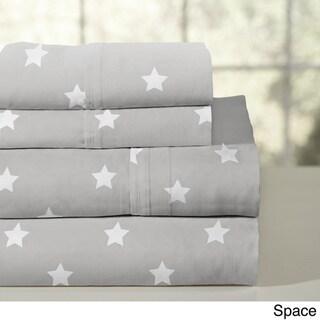Porch & Den Ligonier Combed Cotton Percale Sheet Set