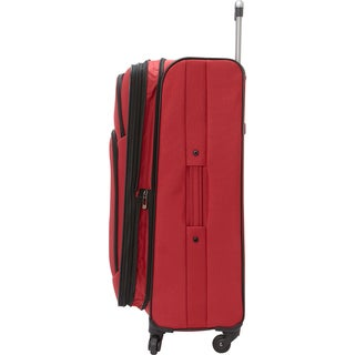 Heritage 'Wicker Park' 28-inch Expandable Spinner Upright Suitcase