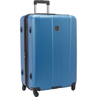 Heritage Gold Coast Blue/Grey 29-inch Hardside Spinner Upright Suitcase
