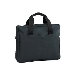 Goodhope Convention Solid-colored Polyester Messenger Briefcase