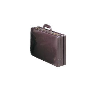 Goodhope Expandable Leather Attache Briefcase