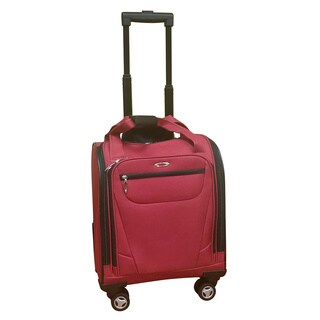 Kemyer Under Seater Red Carry-on Spinner Tote Bag