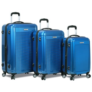 Dejuno Venture 3-Piece Hardside Spinner TSA Combination Lock Luggage Set