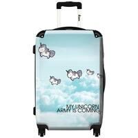iKase 'Unicorns'  ,Carry-on 20-inch,Hardside, Spinner Suitcase