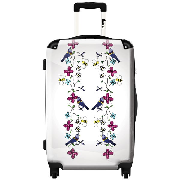 9c2b698c1d iKase 'Birds and Bees Adjusted' ,Carry-on 20-inch,Hardside, Spinner Suitcase