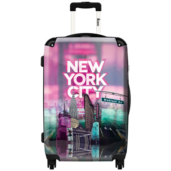 Shop Ikase New York City Purple Carry On 20 Inch