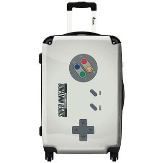 iKase 'Super Nintendo' 20-inch Fashion Hardside Carry-on Spinner Suitcase